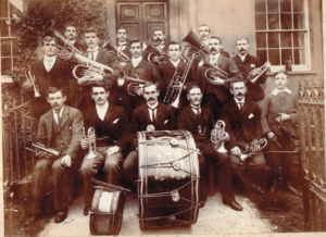 Wiveliscombe Town Band sepia